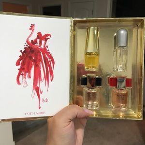 Estée Lauder fragrance set minis